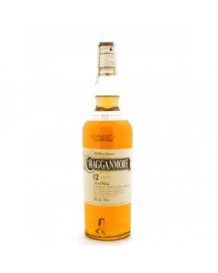 Single Speyside Malt Whisky 12 anni Cragganmore 70 cl