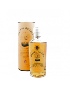 Grappa Riserva Botti da Tennessee Whiskey Antica Distilleria Domenico Sibona 50 cl