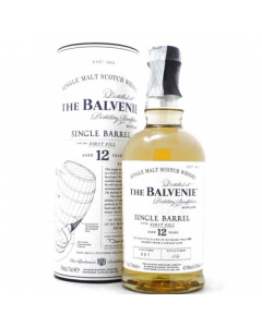 Single Malt Whisky 12 anni Single Barrel First Fill Balvenie 75 cl
