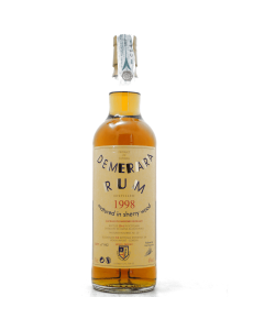 Demera Rum matured in Sherry Wood Moon Import Collection 1998 70 cl