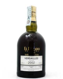 Demerara Rum El Dorado Rare Collection Versailles 2002
