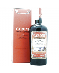 Trinidad Rum 21 anni Extra Strong 110° Proof Caroni 1996 70 cl